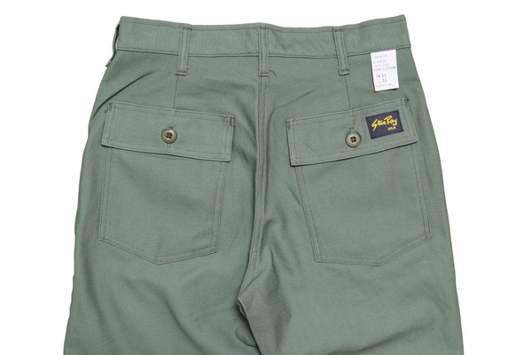 Stan Ray Taper Fatigue Pant Olive Sateen