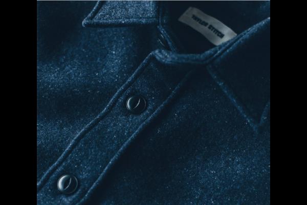 Taylor Stitch Navy Maritime Shirt Jacket