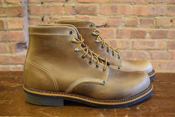 1892 by Thorogood Thorogood Boots 1892 Beloit Natural CXL