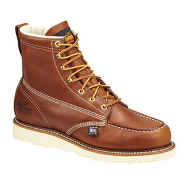 Thorogood Boots Tobacco 6' Moc Toe