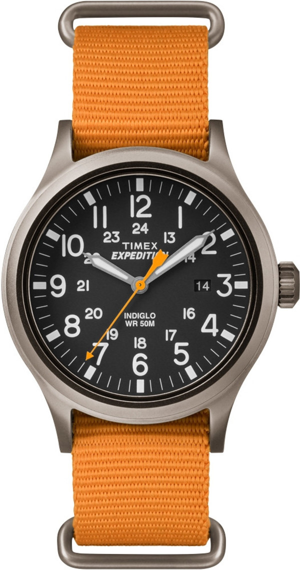 Timex Expedition Scout Orange Strap
