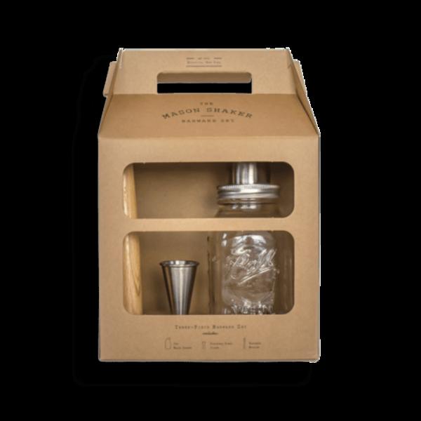 W&P Design Mason Shaker Barware Set