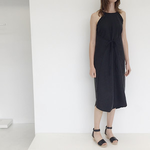 LLOYD Black Wrap Dress
