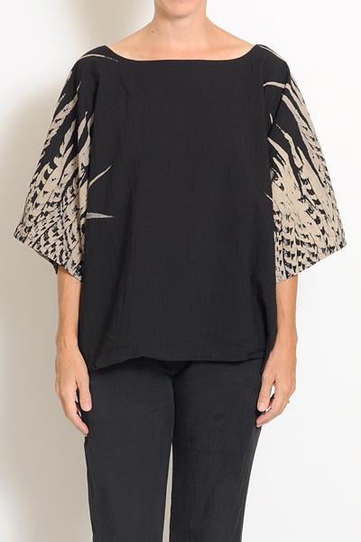 Uzi Feather Kimono