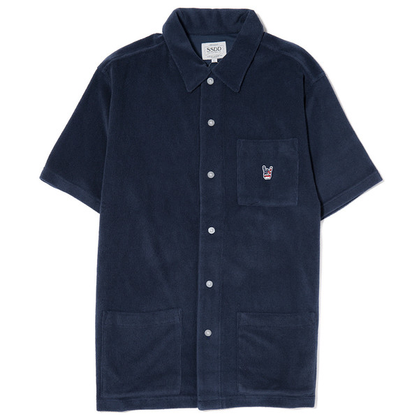 FUCT SSDD FRENCH TERRY SS SHIRT / NAVY