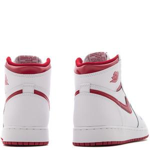 JORDAN 1 RETRO HIGH OG GS METALLIC RED / WHITE