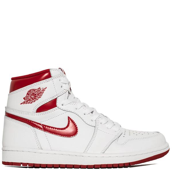 JORDAN 1 RETRO HIGH OG METALLIC RED / WHITE