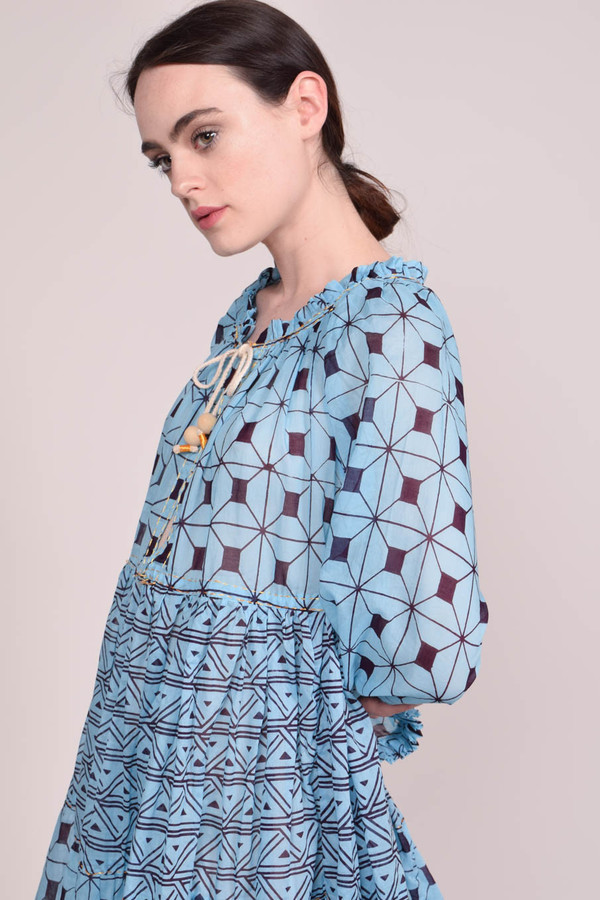 Yvonne S Mini Hippy Dress