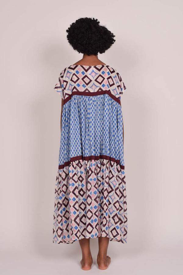 Yvonne S Wind Dress - Blue