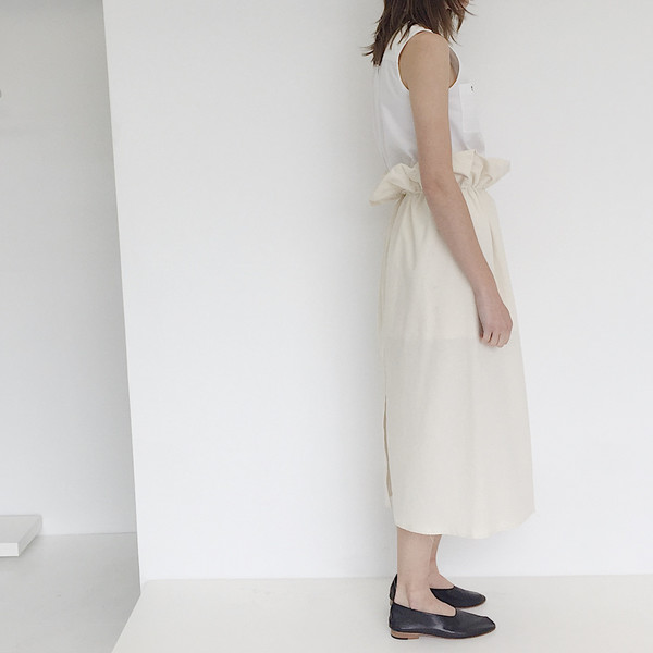 A Person Made Cinch Skirt