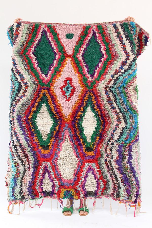 Artist Boucherouite Rug M1 17 5