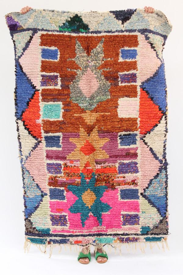 Artist Boucherouite Rug M1 17 8