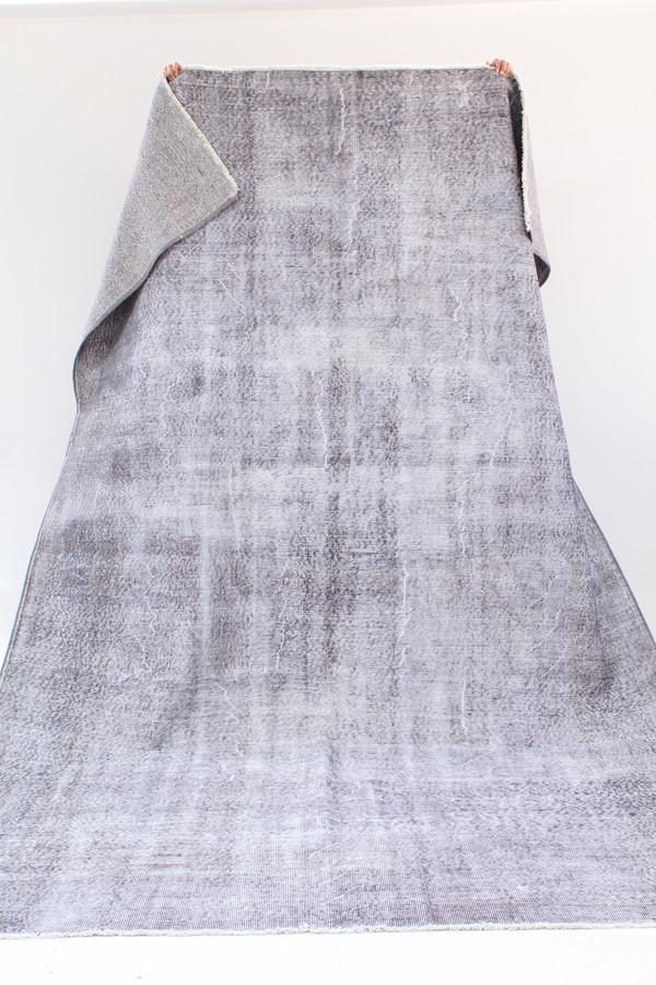 Beklina Turkish Overdyed Rug Grey