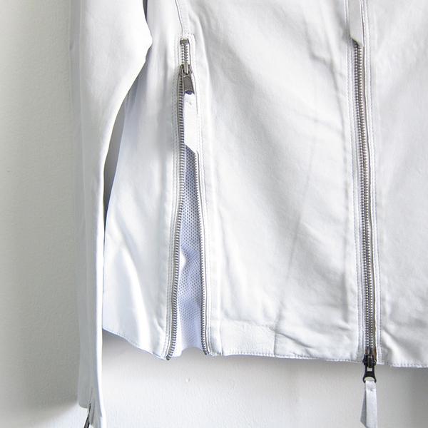Jakett New York washed leather Vespa jacket