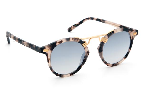 Krewe du Optic St. Louis Sunglasses in Matte Sunday Tortoise