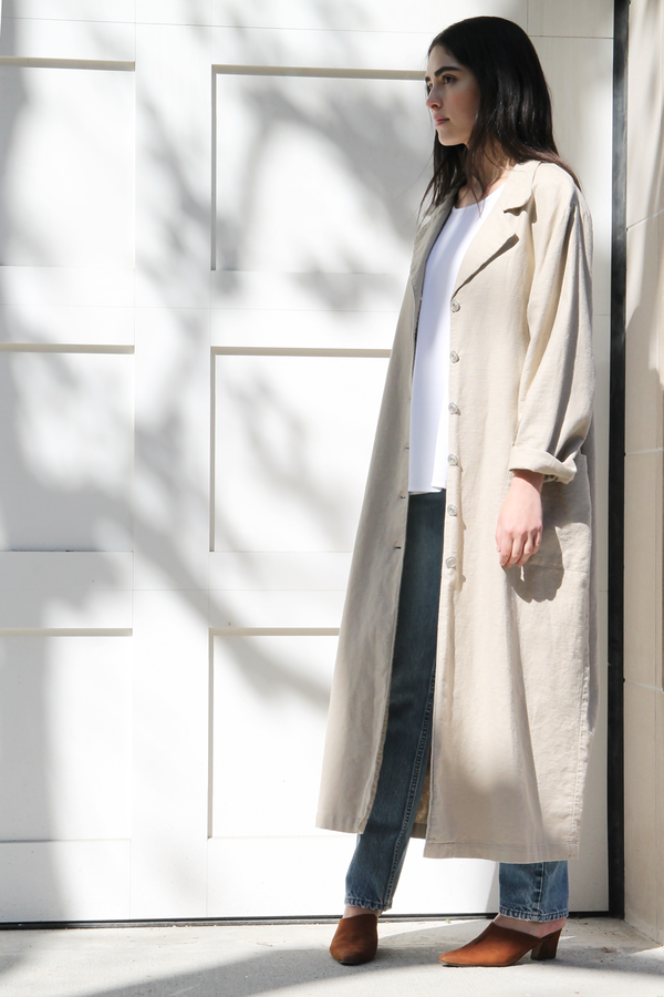 DUO NYC Vintage | LINEN DUSTER