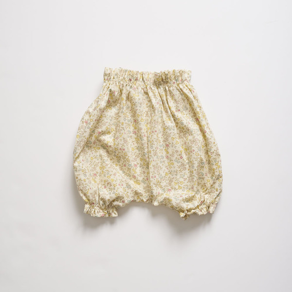 Kids Makié Lin Bloomer - Yellow Liberty Floral