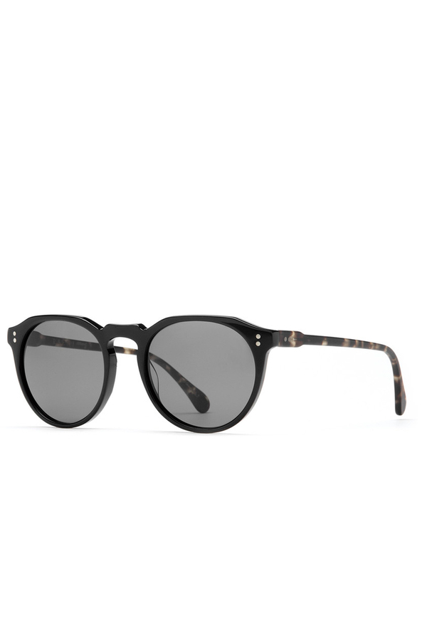 Remmy 52 Sunglasses - Matte Black/Brindle Tort