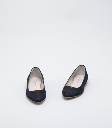 Anniel Pointed Ballerina - Black