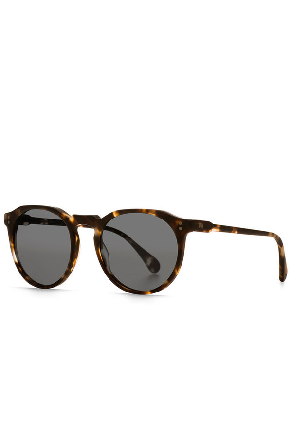 Remmy 52 Sunglasses- Matte Tortoise