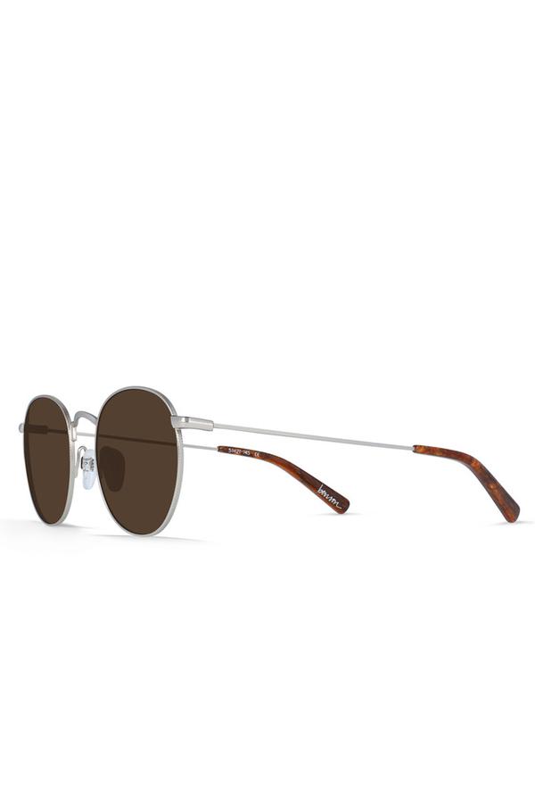 Beson Sunglasses-Silver/Burwood