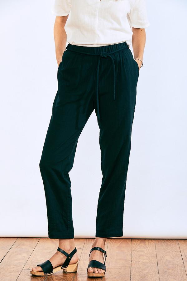 wrk-shp Corded Pants Black