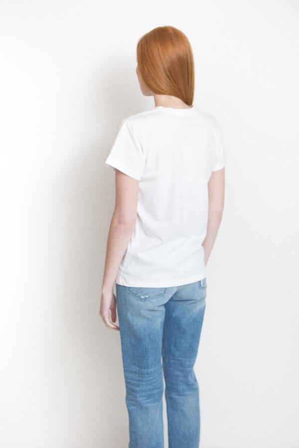 Just Female Boy Tee / Optical White