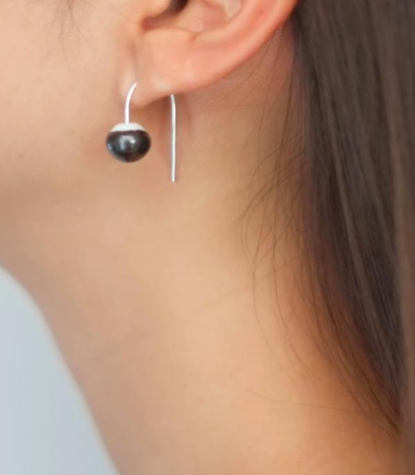 JUJUMADE : Drop Lamp Earring