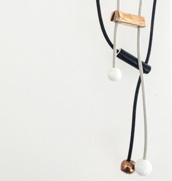 JUJUMADE : Pipe Necklace