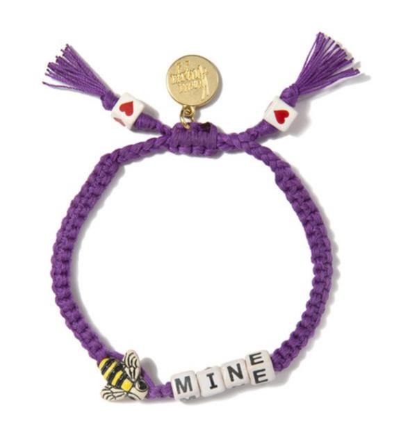 Venessa Arizaga Bee Mine Bracelet in Purple