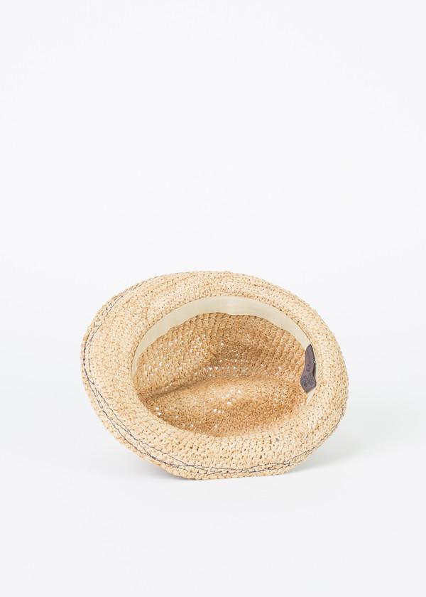 Lola Denim Tarboush Hat