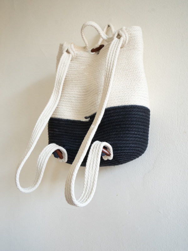 The Northern Market Hand-Dyed Bottom Backpack