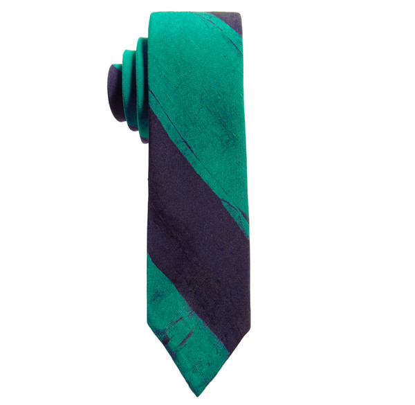 Post-Imperial Broad Striped Tie