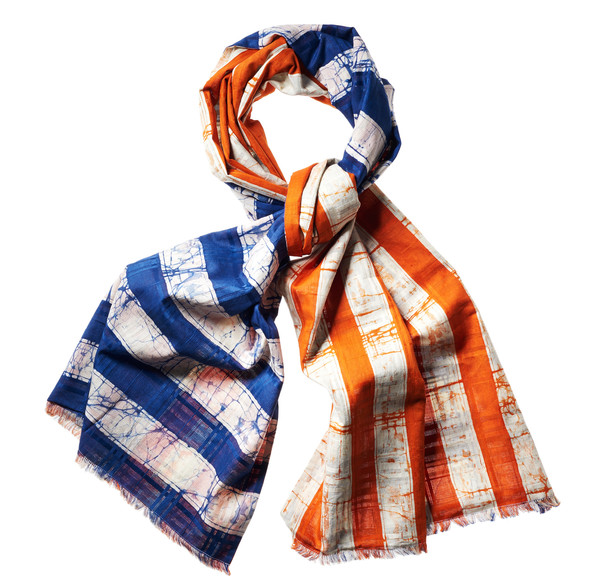 DOUBLE SIDED STRIPE COMBO SCARF