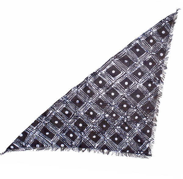 FAMILY HOUSE PATTERN TRI-SCARF