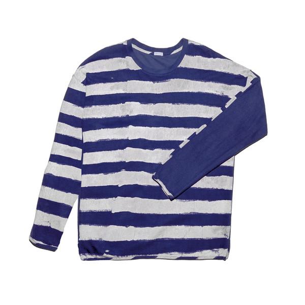 Post-Imperial Lagos Rugby Sweatshirt - Indigo