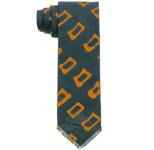 Post-Imperial Rectangular Pattern Tie