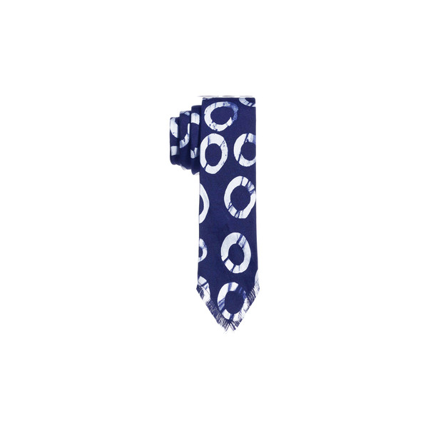 Post-Imperial Circle Pattern Tie