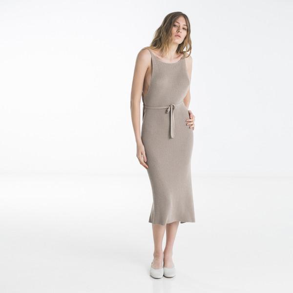 e2c78af55f4 Baserange Knit Apron Dress. sold out. Baserange