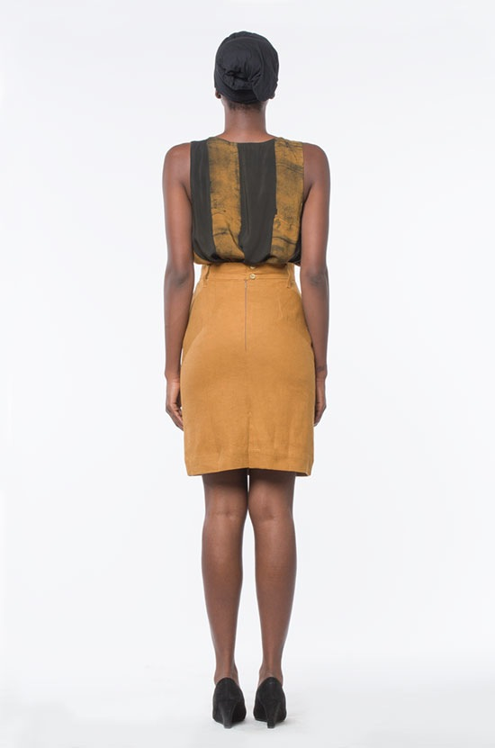 Osei-Duro Graphis Pencil Skirt