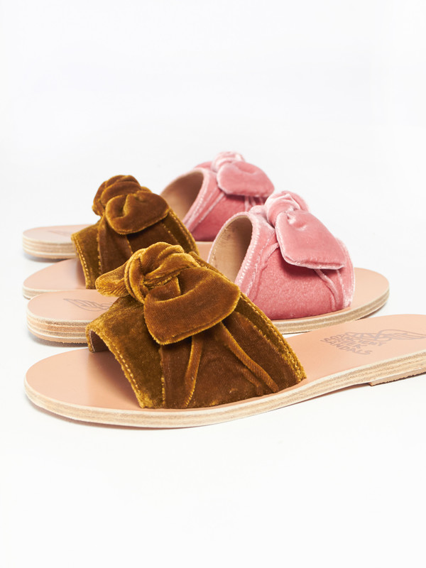 8c328bf4495a Ancient Greek Sandals Taygete Bow - Velvet Mustard
