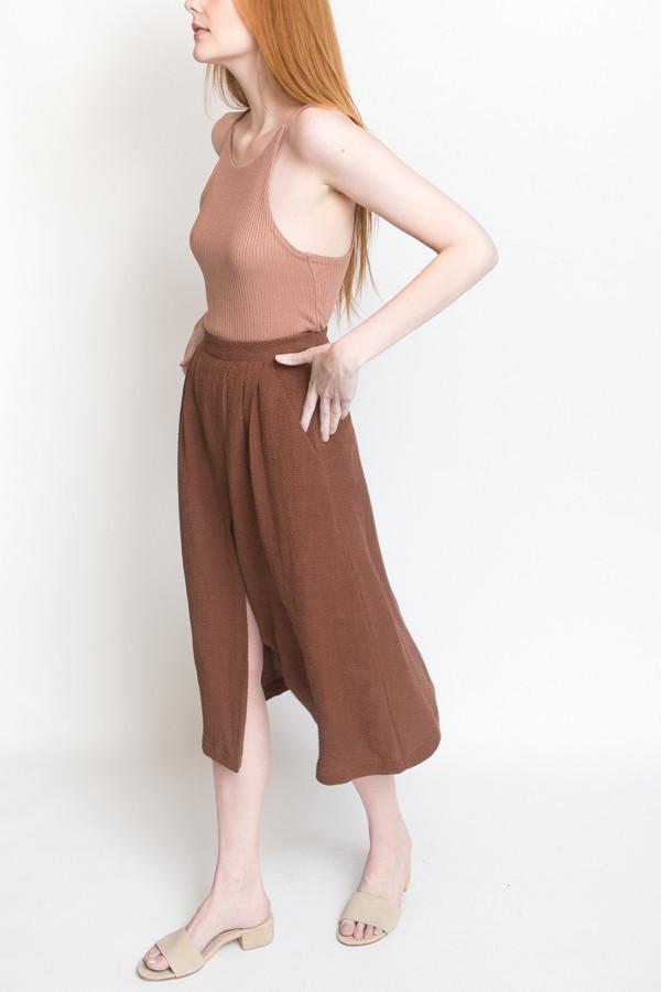 7dd32fb56b First Rite Pleated Skirt / Clay | Garmentory