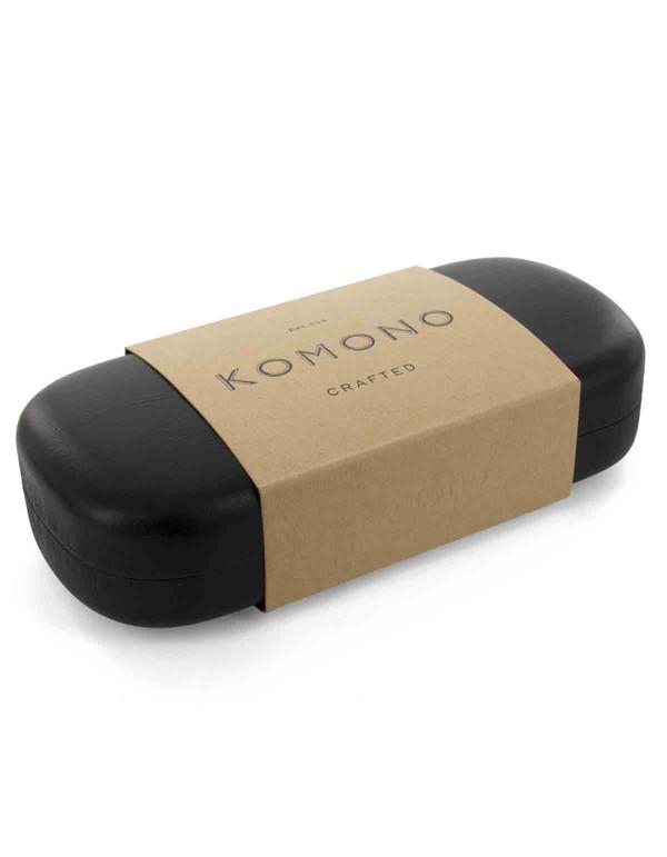 Komono Crafted Clement Acetate Black Tortoise