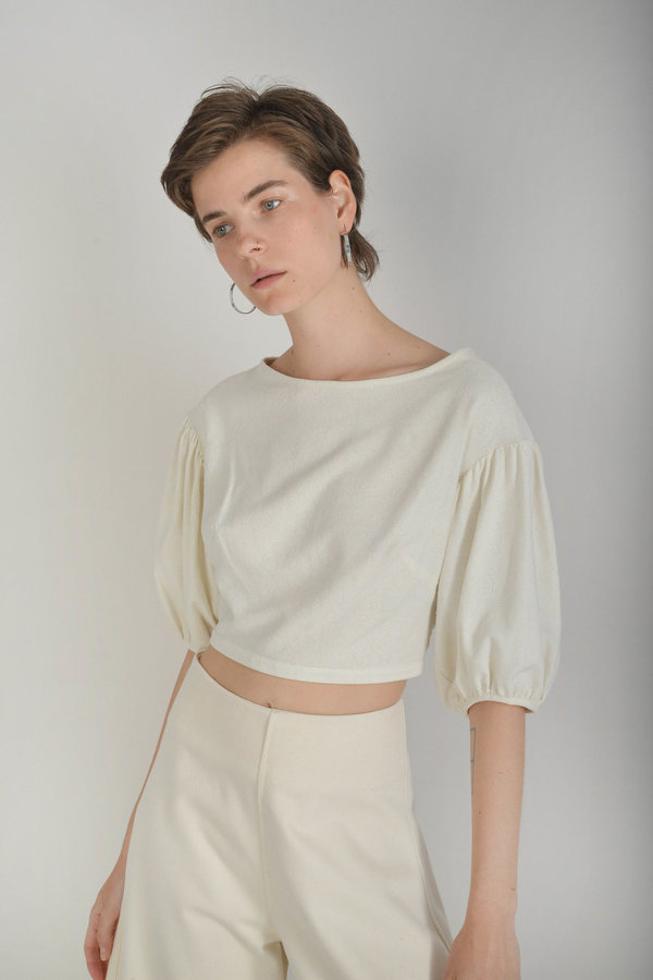 Town Clothes Quintana Culottes in Ginger Cotton Canvas ...