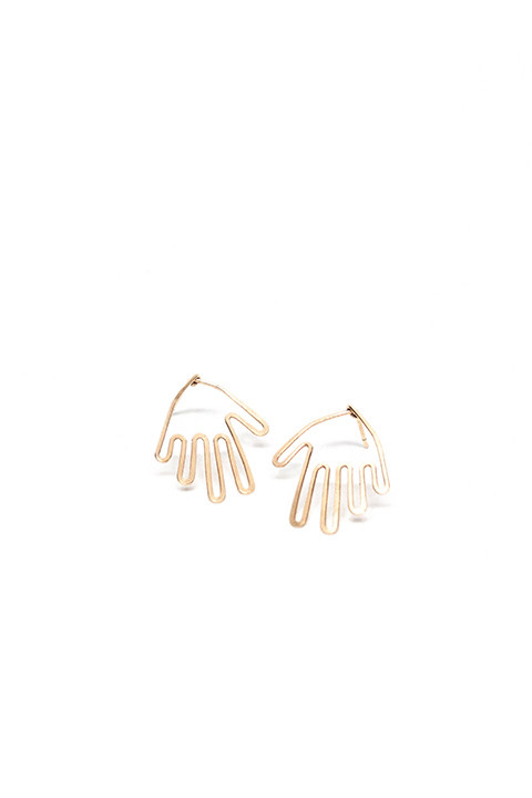 Mary MacGill Hand Stud Earrings