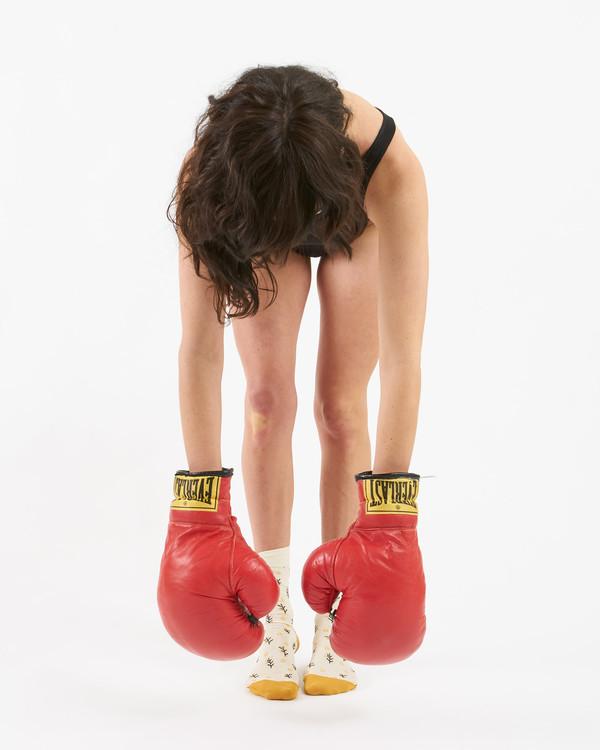 Shiv Naresh Teens Boxing Gloves 12oz: Rider For Life Vintage Everlast Boxing Gloves