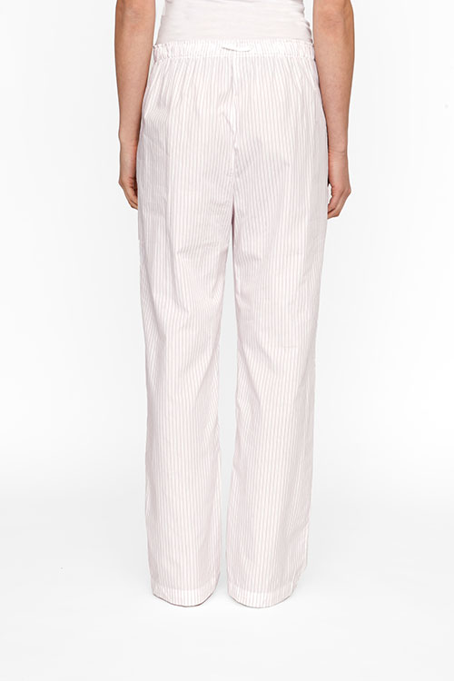 The Sleep Shirt Lounge Pant Red and White Stripe