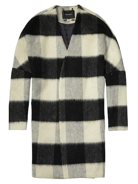 Wool Throw Coat