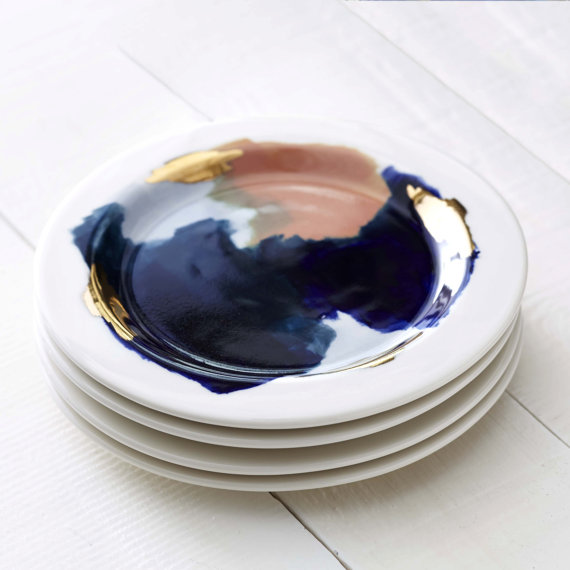 Red Raven Studios Canyon Series Salad Plate