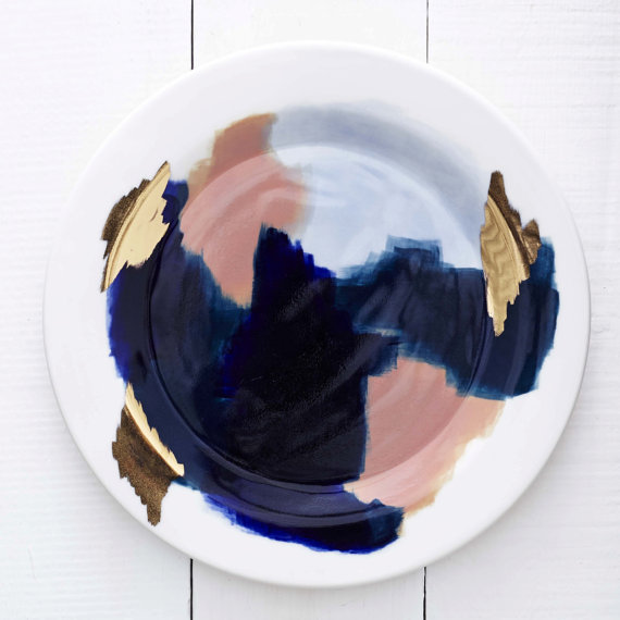 Red Raven Studios Canyon Series Dinner Plate